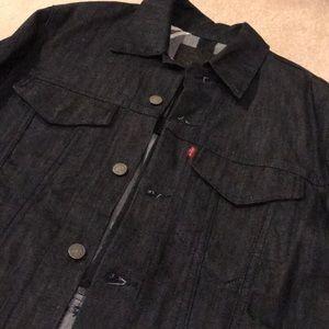 Levi's Dark Denim Commuter Jacket